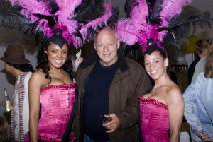 David Gilmour at a charity event